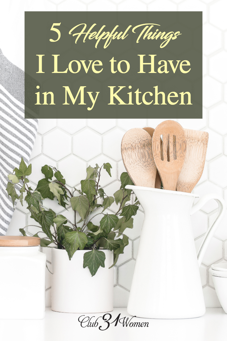 Feeding a family of 8 requires a lot of food prep. Today I'm sharing some of my favorite kitchen gadgets to help make mealtime a little easier! via @Club31Women