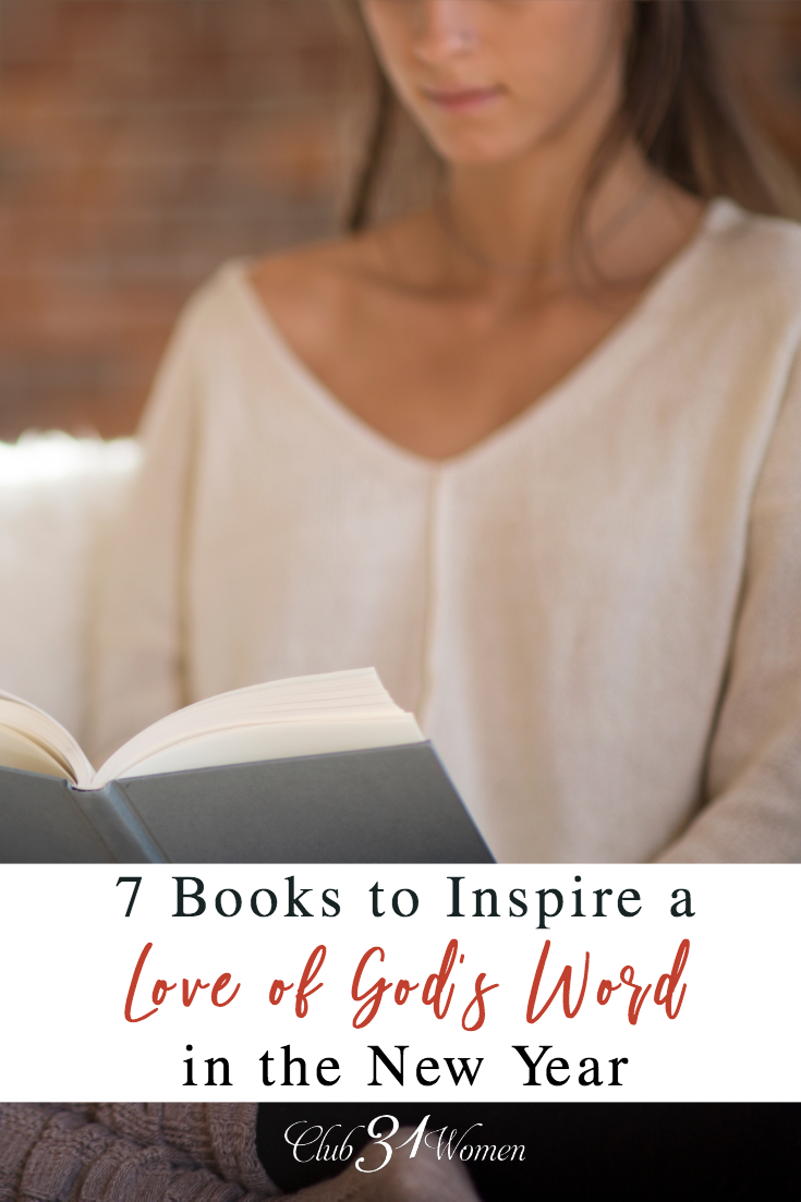 It is always a good idea to learn new, fresh ways to explore God's Word, but the dawning of a new year seems like an apt time to get back to the Bible. via @Club31Women