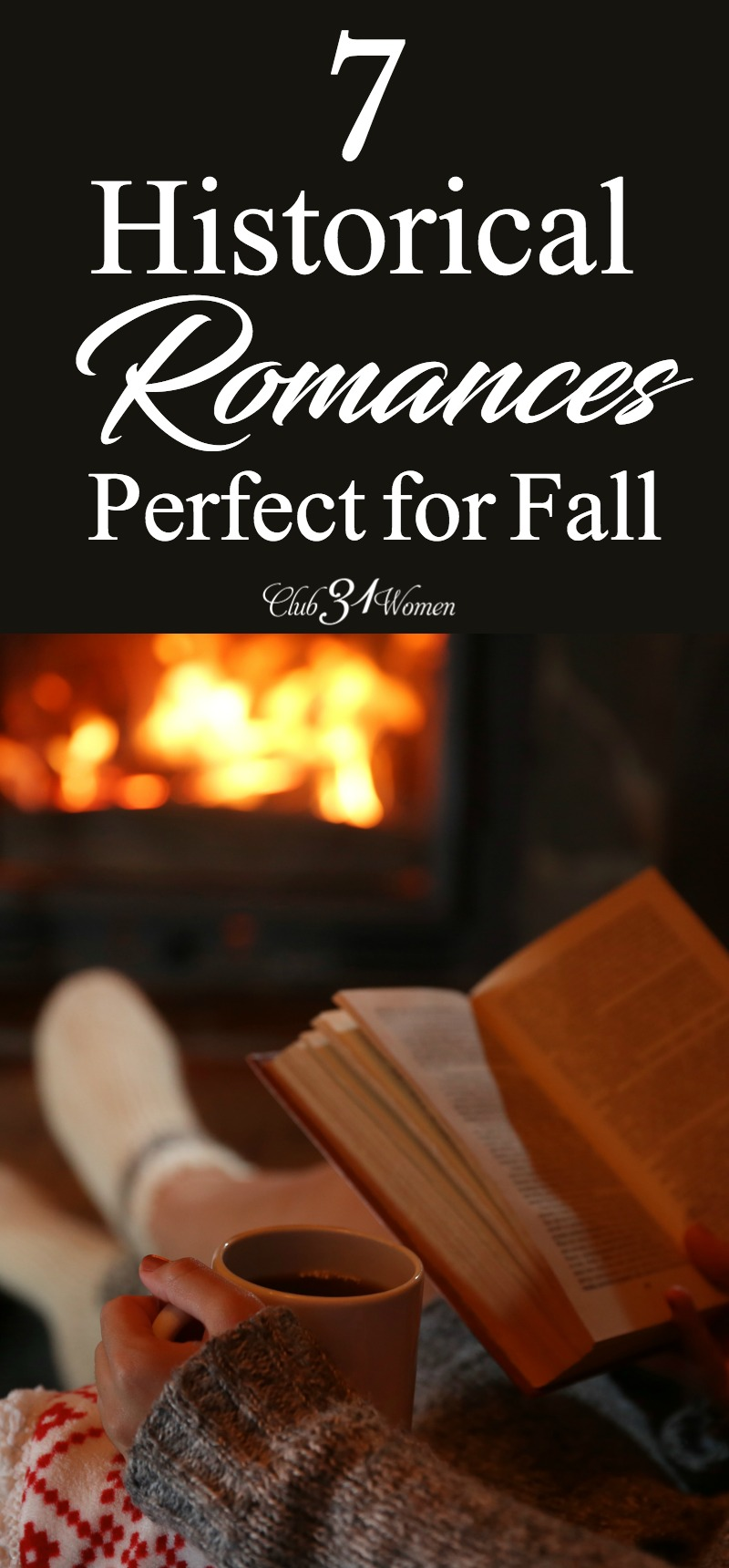 Why not spend some time in another time and place this fall with this great selection of historical romances? Grab your favorite hot drink and enjoy! via @Club31Women