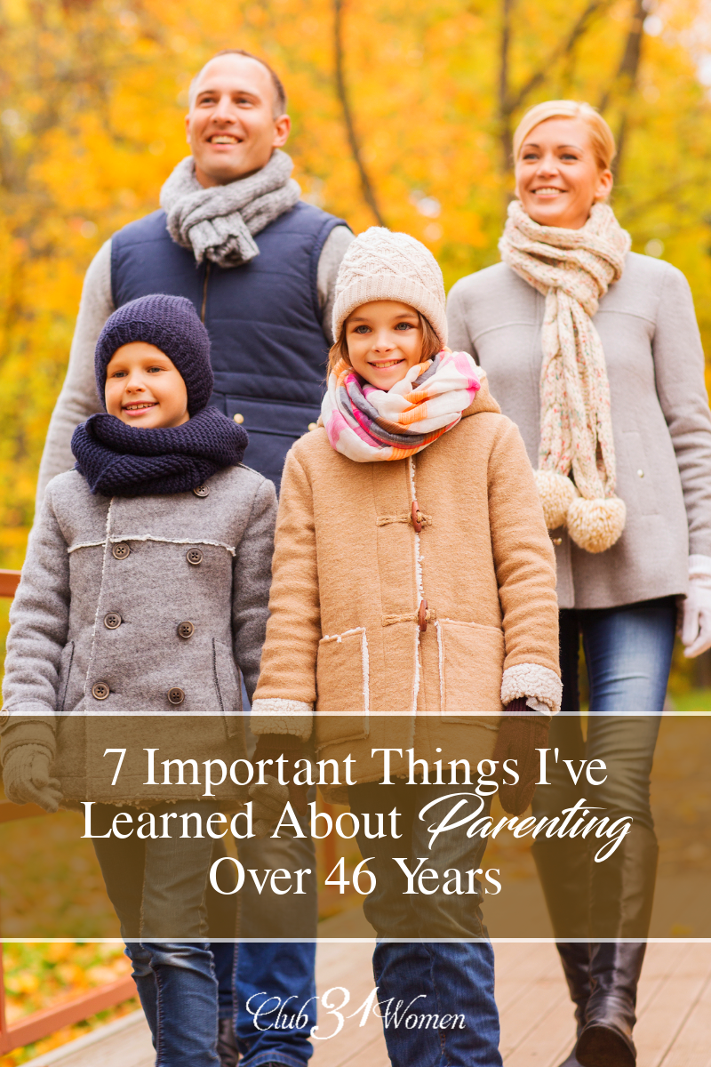 Parenting can feel so overhwelming when you're in the thick of it. Here are some encouraging ways you can make a difference in the life of your children. via @Club31Women