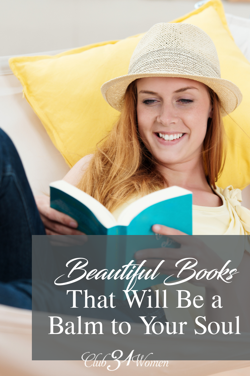 When you're looking to add some beauty and peace to your days, why not pick up one of these beautiful books to relax with? via @Club31Women