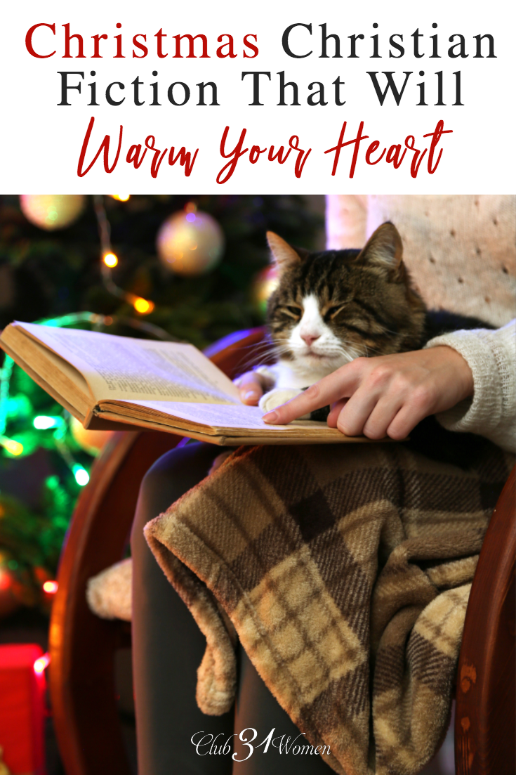 Christmas stories can remind us that we're not alone, while giving us hope to press on. Here is a list of some great Christmas fiction for your book list. via @Club31Women