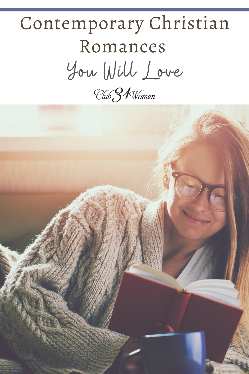 Finding good quality reading can be a challenge!! These Contemporary Christian romances are sure to inspire and captivate you! via @Club31Women