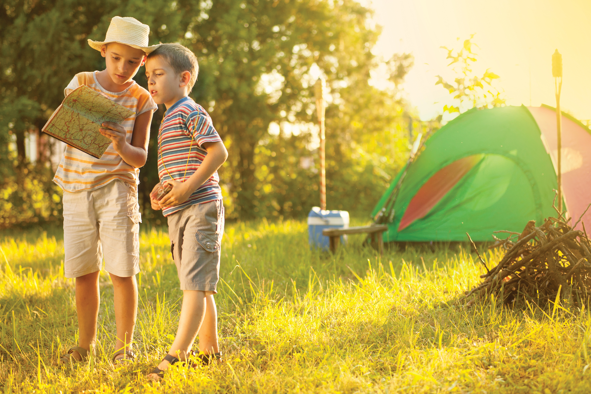 What You Need to Know – and Bring – If You're Camping with Kids {& Free Printable Checklist}