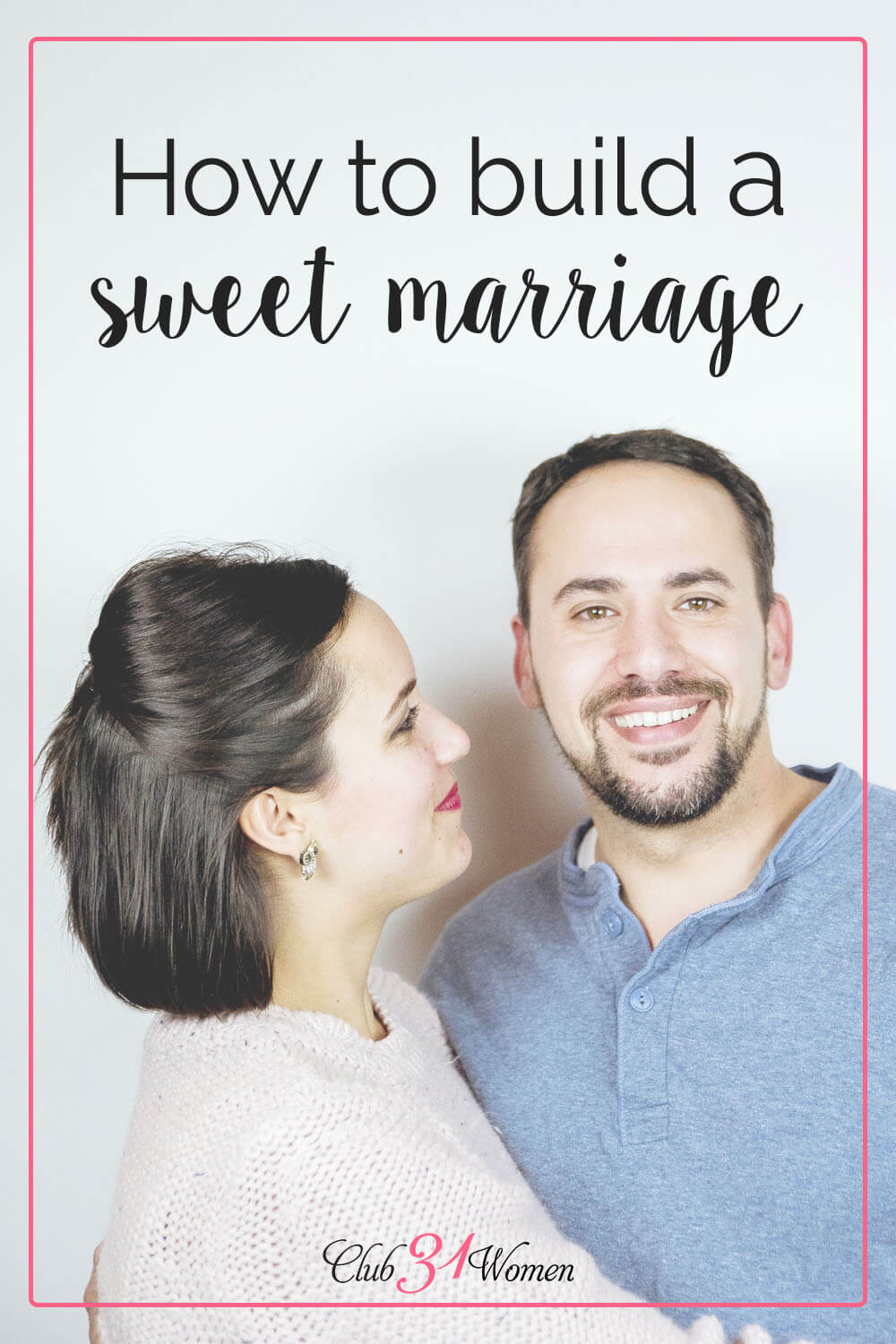 Would you like to build a sweet marriage? No matter where your relationship is at, here is a simple, but powerful way you can start right now! via @Club31Women