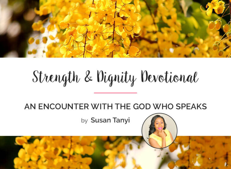 An Encounter with the GOD Who Speaks