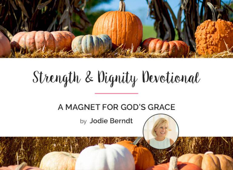 A Magnet for God's Grace