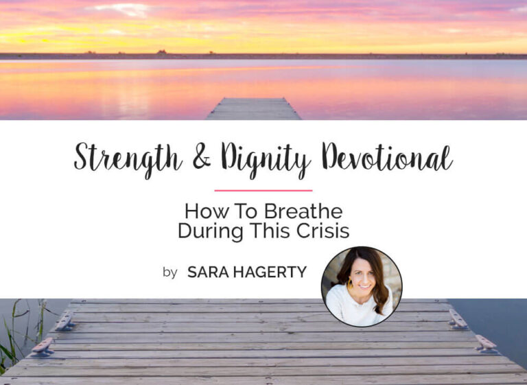 How To Breathe During This Crisis