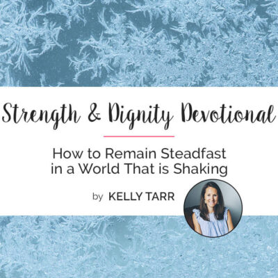 How to Remain Steadfast in a World That is Shaking