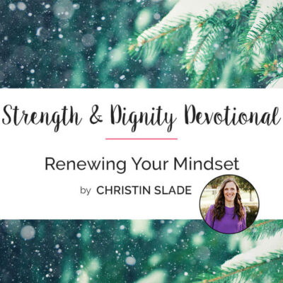Renewing Your Mindset for the Future