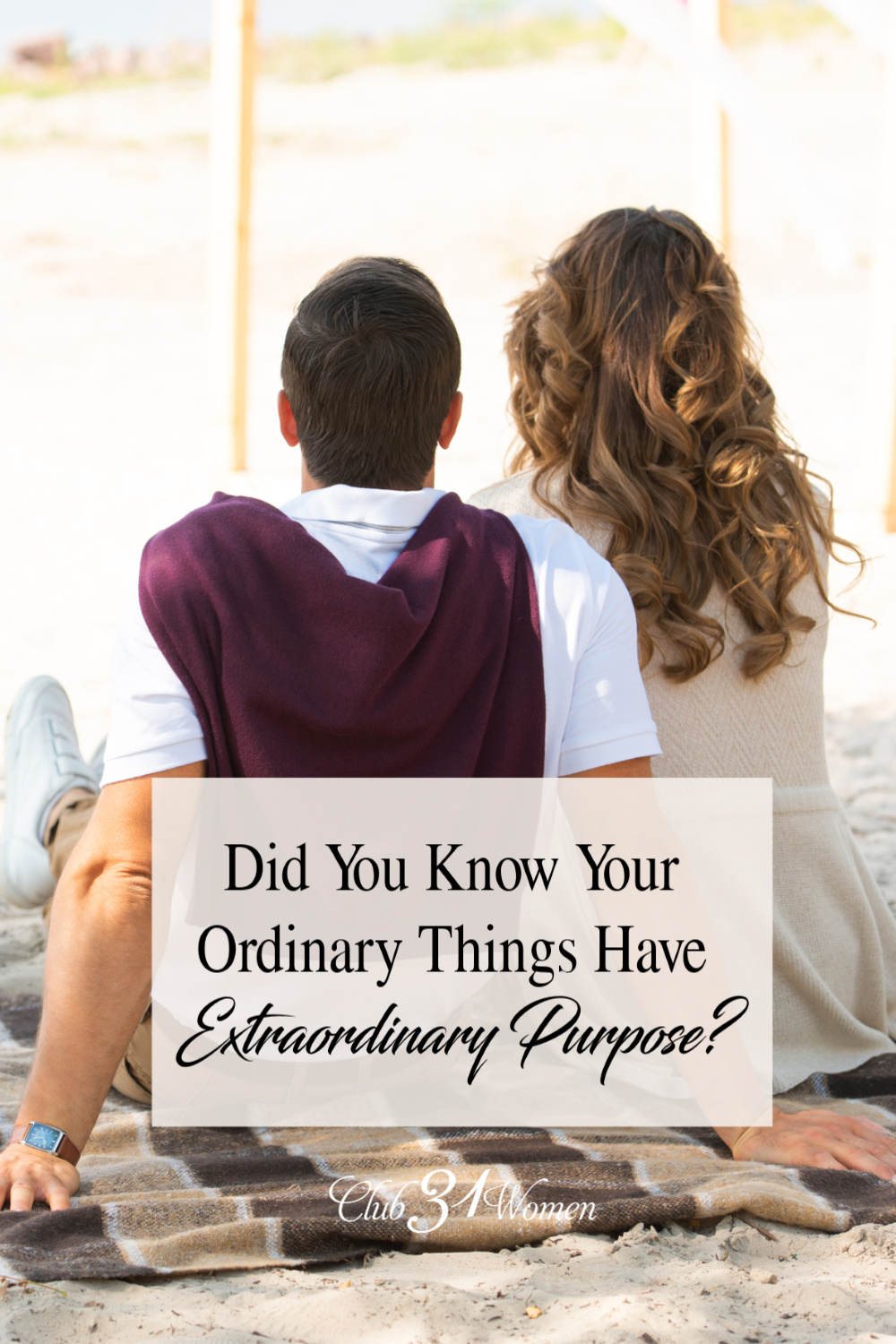 Marriage After God was written to encourage couples to use even their ordinary marriage to carry out His extraordinary purposes! via @Club31Women