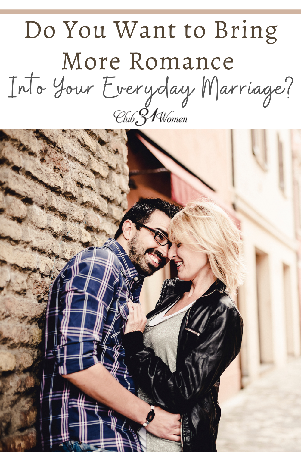 Are you ready to turn the heat up in your marriage? Consider the flirtation experiment and watch it turn sparks into flames! via @Club31Women