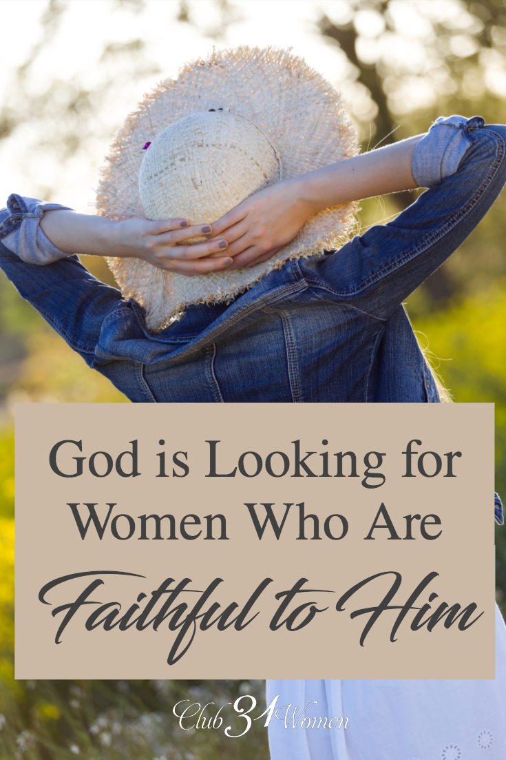 What does it mean to be faithful to God? How can we walk in this faithfulness so we are chosen to be used by Him and for His glory? via @Club31Women