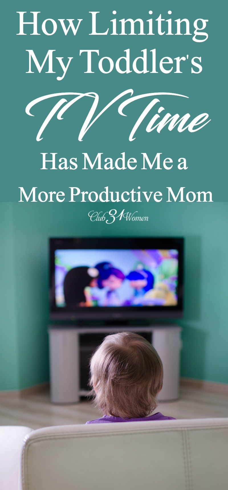 It can feel easier to sit our children in front of the tv in order to steal some free time or clean uninterrupted. But is this the best way to handle media?