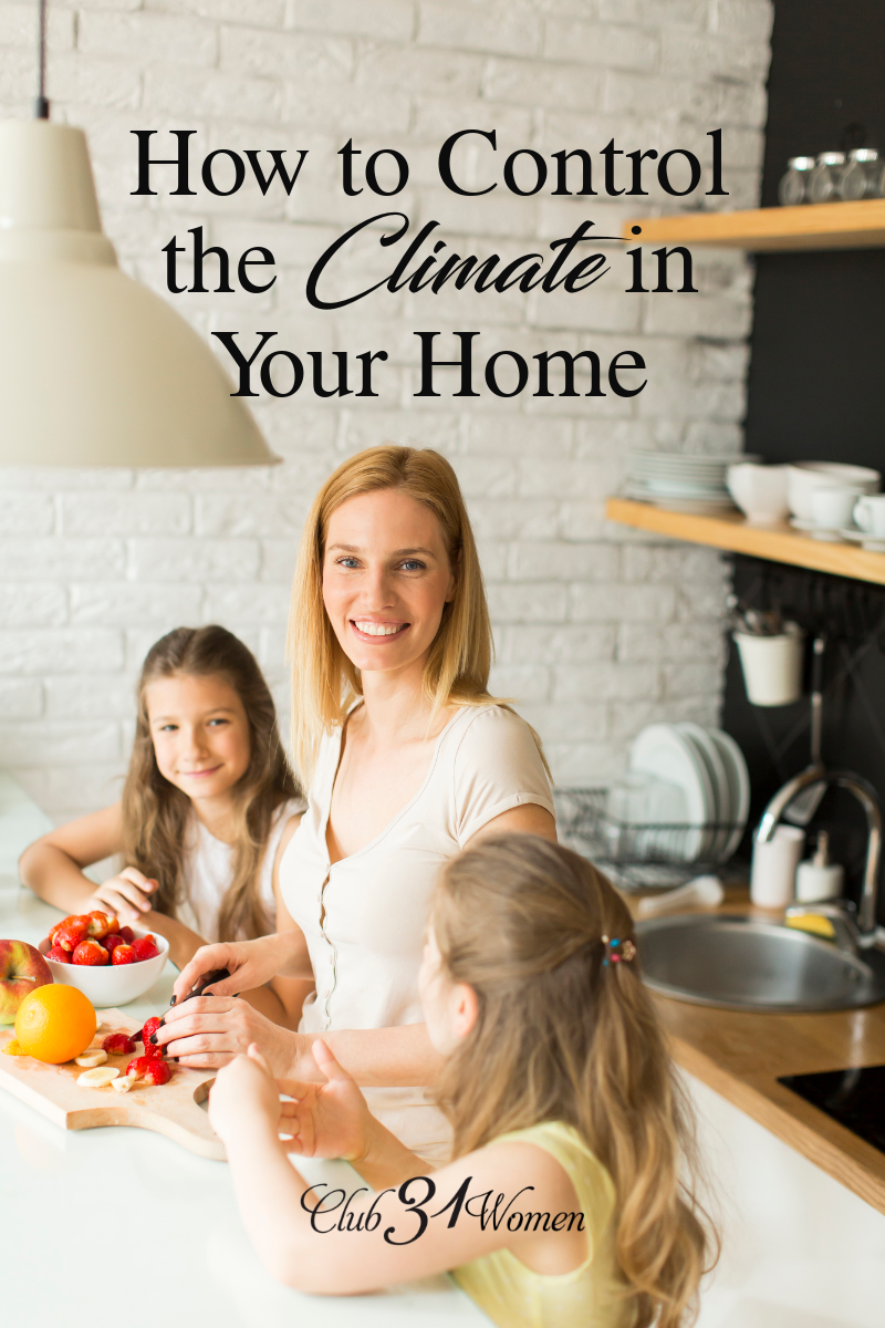 Different ages and stages and new and different seasons can have an intense impact on the people in our home but we can plan how we will respond. via @Club31Women