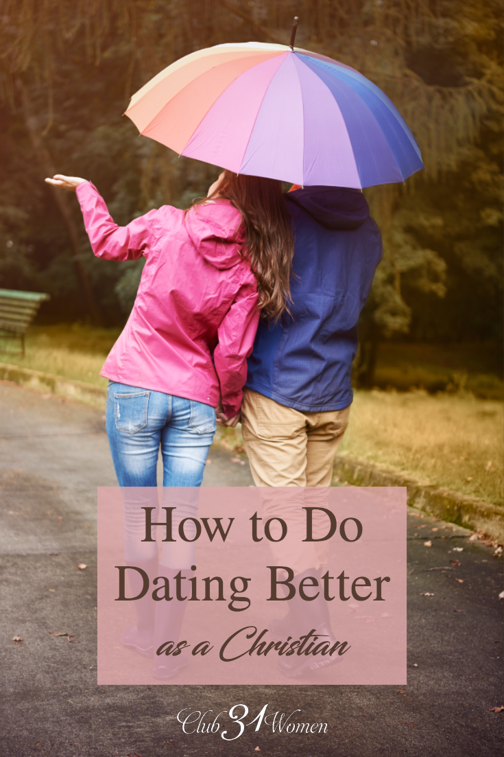 One day, you're going to be faced with navigating dating or teaching someone how they should go about it. What will you tell them? via @Club31Women