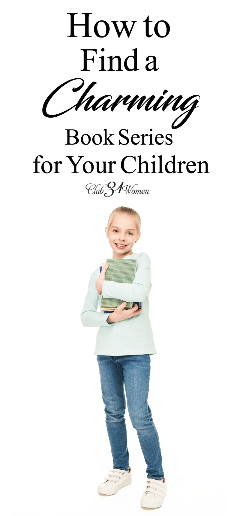 How to Find a Charming Book Series for Your Children via @Club31Women