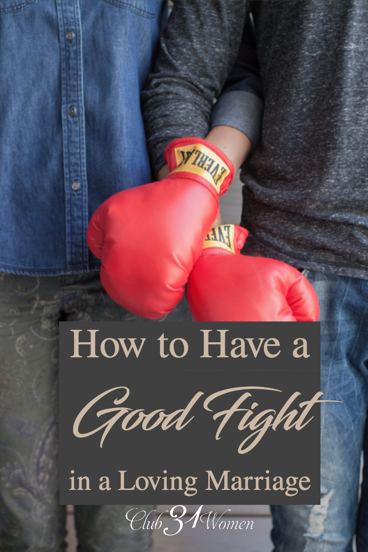 "We're sharing quite candidly on how we ""fight"" in our own marriage and insights that can make a real difference when you're at odds with each other. via @Club31Women"