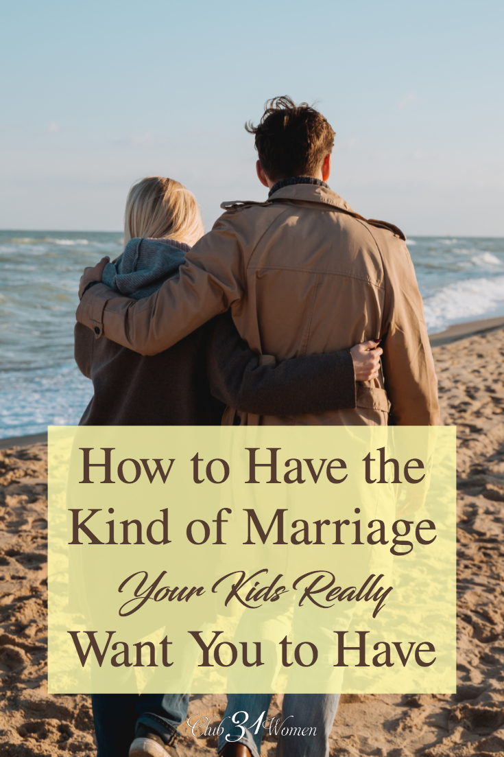 Marriages with passion have become rare, even among Christians. But if we want to teach our children how to love others well, it begins in our marriage. via @Club31Women