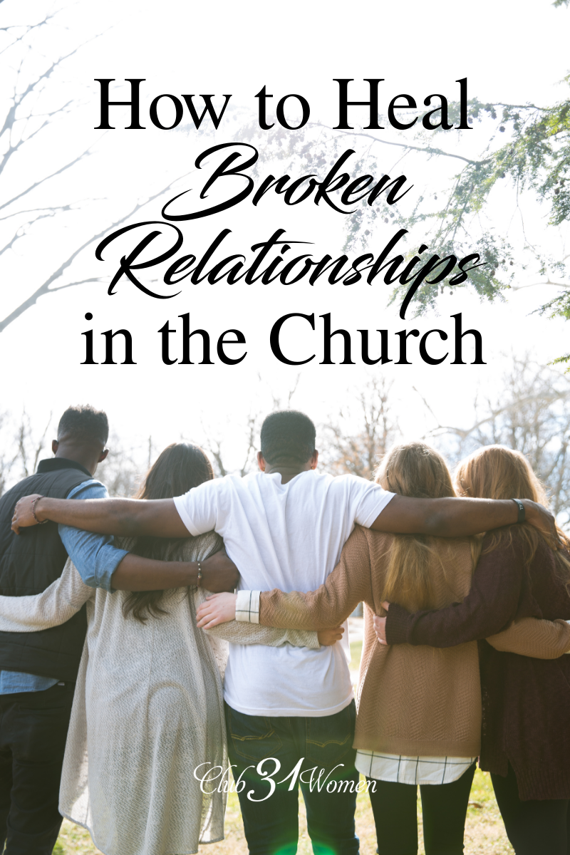 Here we share those things we wish we would've understood better when we first encountered such relational challenges with other believers that help heal. via @Club31Women
