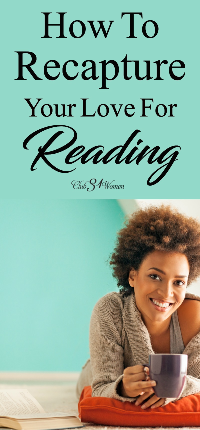 Reading can be difficult to come by as life continues to get busy and seasons change. But how can we keep reading a priority in our lives? via @Club31Women