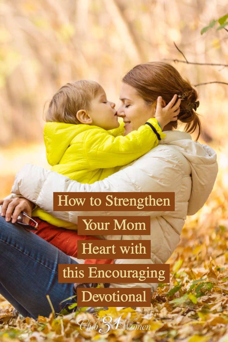 As a mom, we need lifegiving encouragement. When we can receive that, we can be lifegiving mothers. This resource will touch your heart and spirit as a mom! via @Club31Women