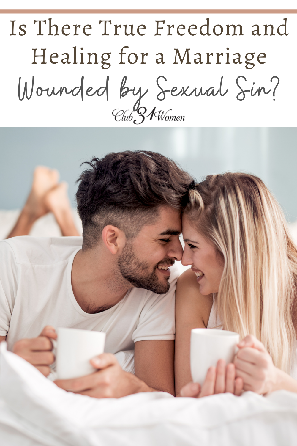 Does your marriage feel trapped by sexual sin? Are you afraid you will never experience the freedom you and your spouse are seeking? via @Club31Women