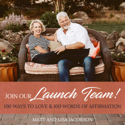Do you want to help us out with strengthening marriages?
