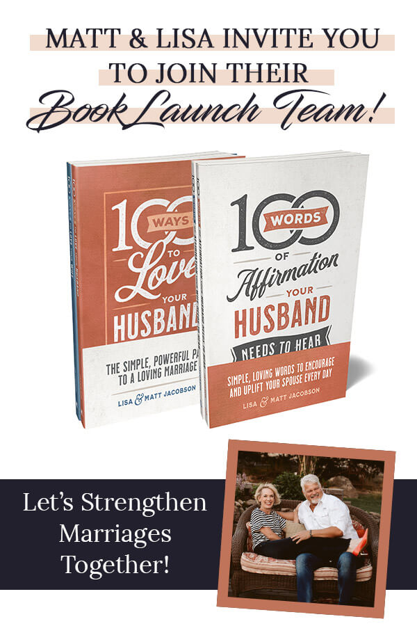 Matt and I want to invite you - our friends and readers - to be a part of our Jacobson Book Launch team. We'd be grateful for your help in getting the word out! via @Club31Women