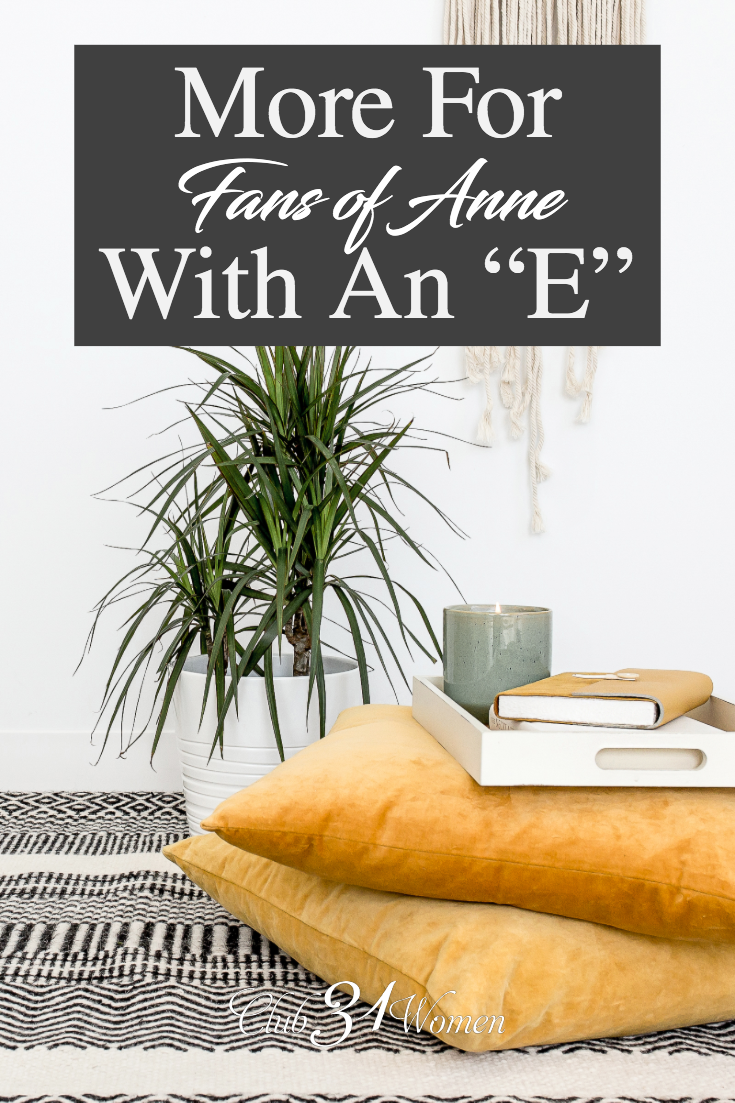 If you need to read more books like Anne of Green Gables or are looking for a good gift, let this collection be an inspiration. via @Club31Women