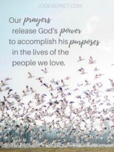 Prayer Releases God's power