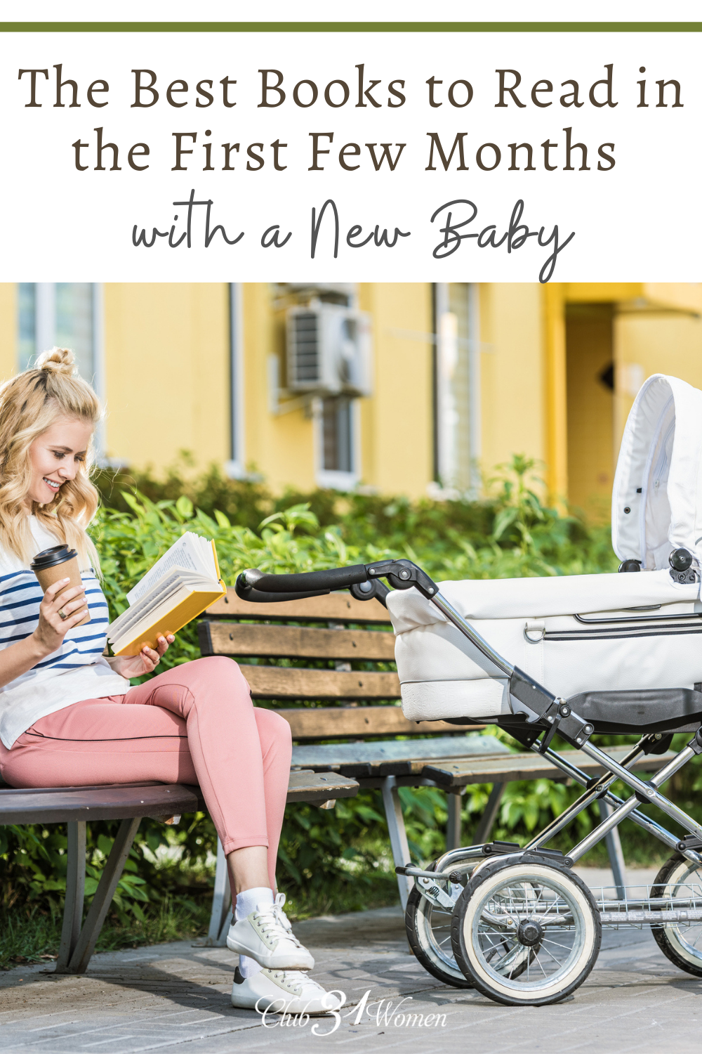 Life with a new baby can be overwhelming but also require slowing down as you recover and care for your newborn. Here are some books to help! via @Club31Women