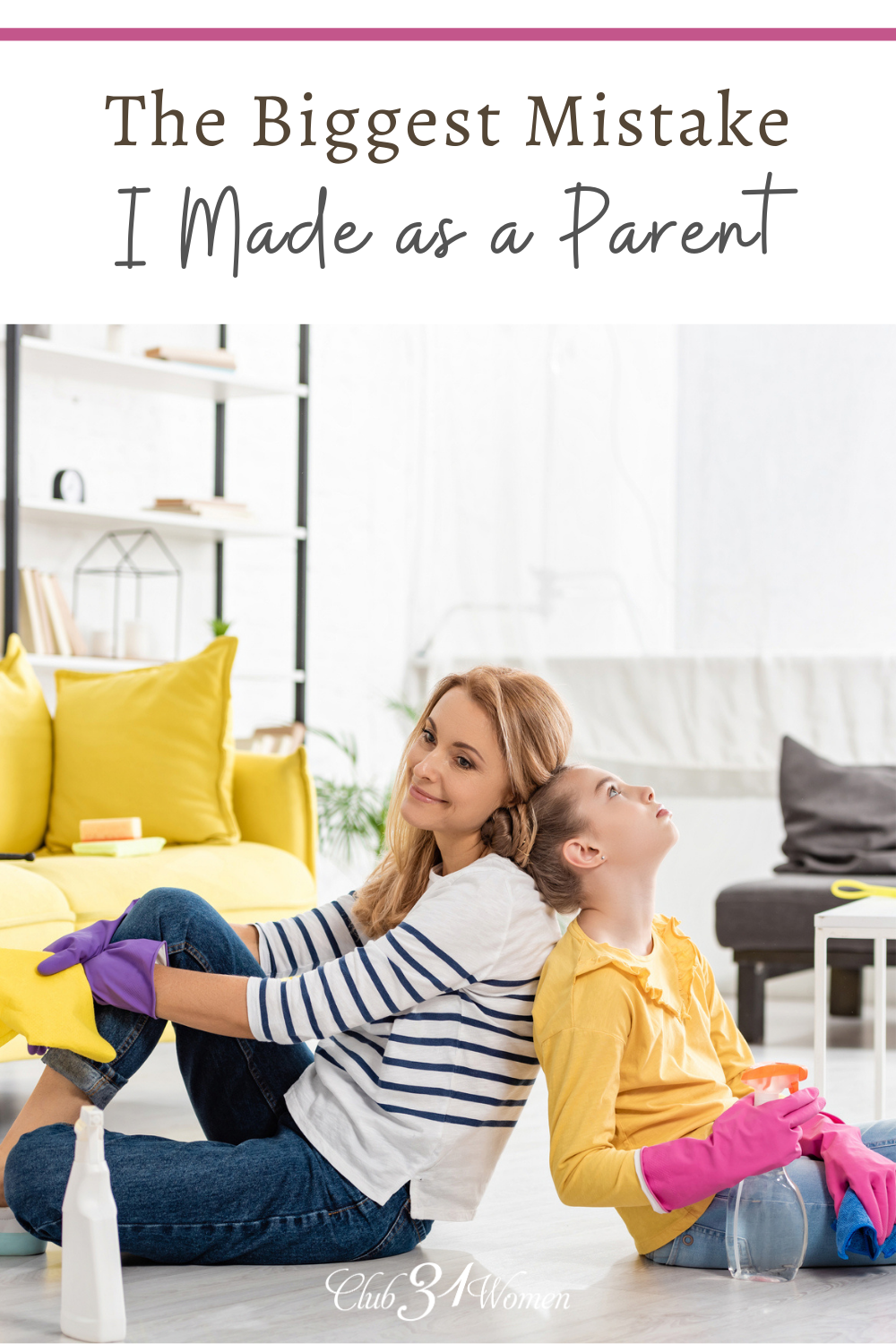 We all make mistakes as a parent. This is a common mistake we make but is easily fixed once we recognize it. via @Club31Women