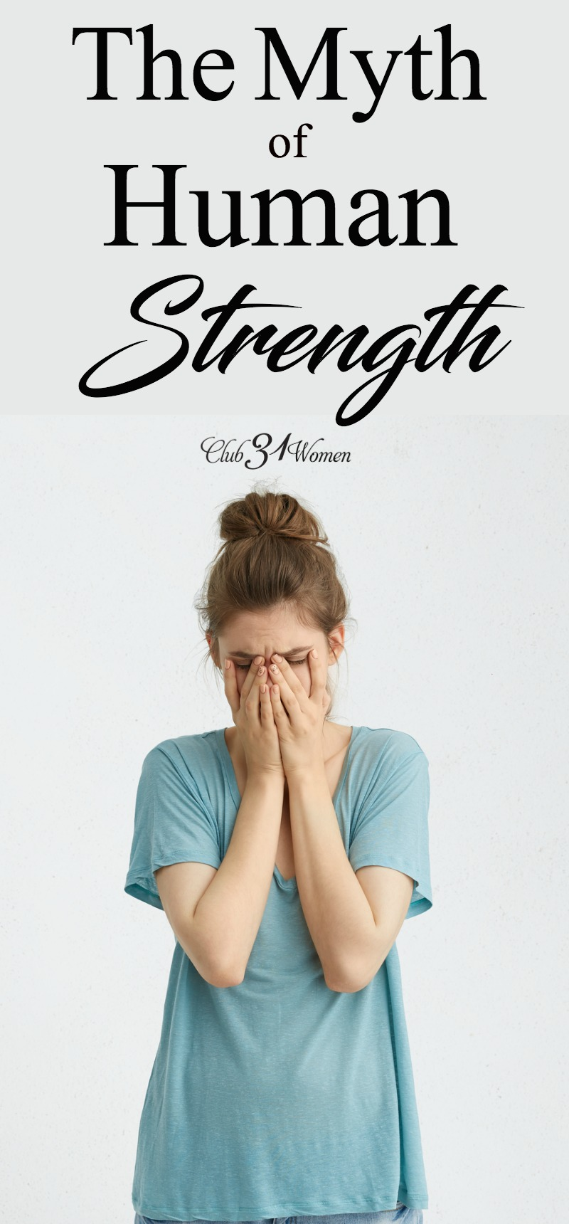 What happens when we admit that we are weak? That we can only rely on and walk in His strength for His glory? This is our greatest access to Him. via @Club31Women