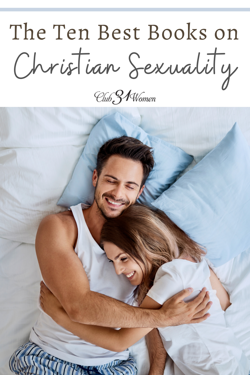 It can be difficult to find a biblical approach to sexuality in modern books and media. Here are some of the best Christian resources on sexuality. via @Club31Women