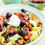 Trainwreck Crockpot Taco Salad