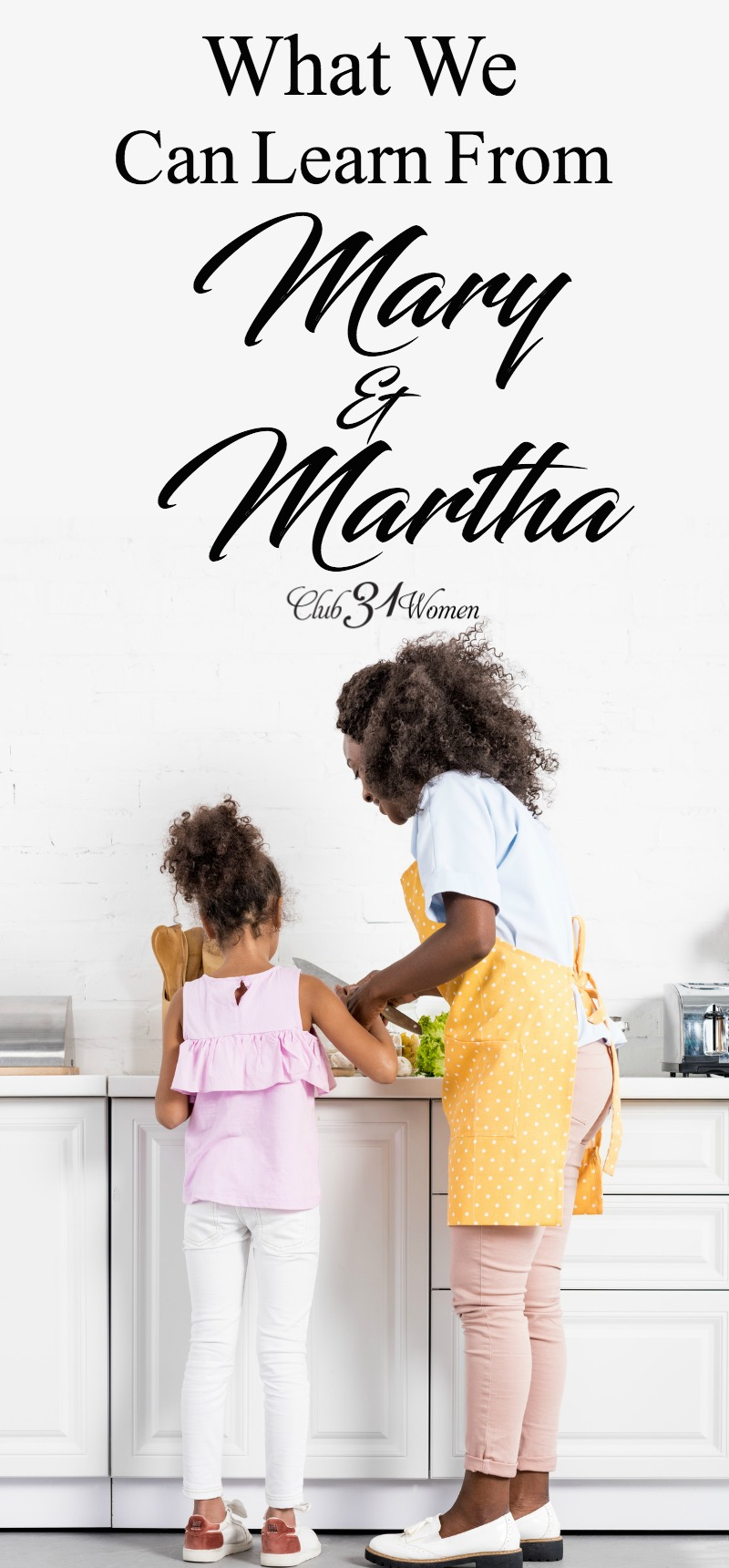 There is so much we can learn from the story of Mary and Martha. Sometimes we just need to break it down and see how we can learn from each of them. via @Club31Women