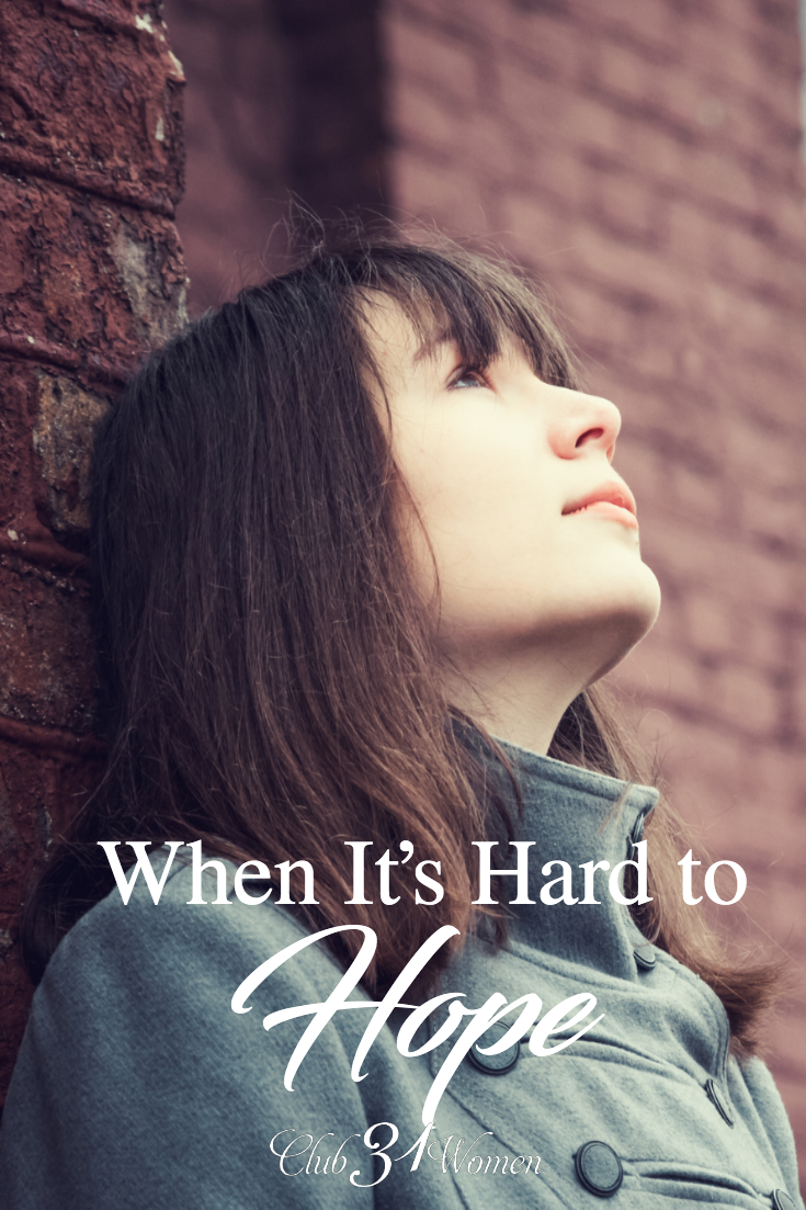 When waiting is hard and hope is deferred, how can we continue to trust in God and have faith in what He is doing? God is at work even if you can't see it. via @Club31Women