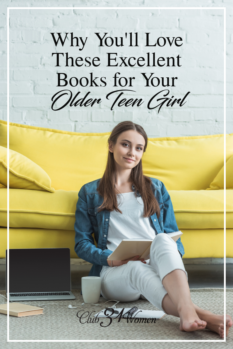 If you have an older teen girl who reads every possible second, I'd recommend the following titles as excellent choices to add to her reading list. via @Club31Women